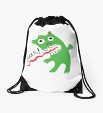 Critter Expletive  Drawstring Bag
