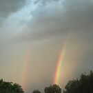 DOUBLE RAINBOW OVER AHWATUKEE by WhiteDove Studio kj gordon
