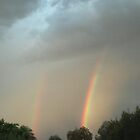 DOUBLE RAINBOW OVER AHWATUKEE by WhiteDove Studio kj gordon