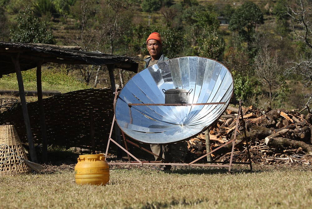 Pride in the world of Solar Energy  by Nawal