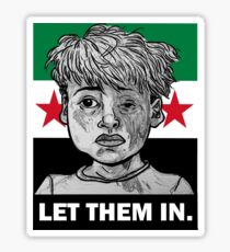 Save the Children - ALL PROFITS MATCHED AND GO TO SYRIAN CHILDREN'S RELIEF FUND Sticker