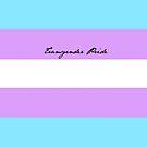 Transgender Pride by charliebuterfly