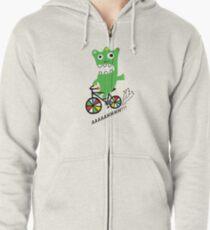 Critter Bike  Zipped Hoodie