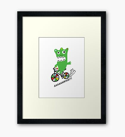 Critter Bike  Framed Print