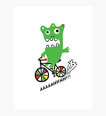 Critter Bike  Photographic Print