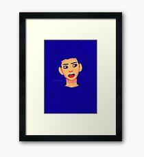 bleh Framed Print