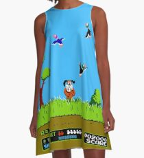 Vestido acampanado Duck Hunt Retro Video Game Art Nintendo