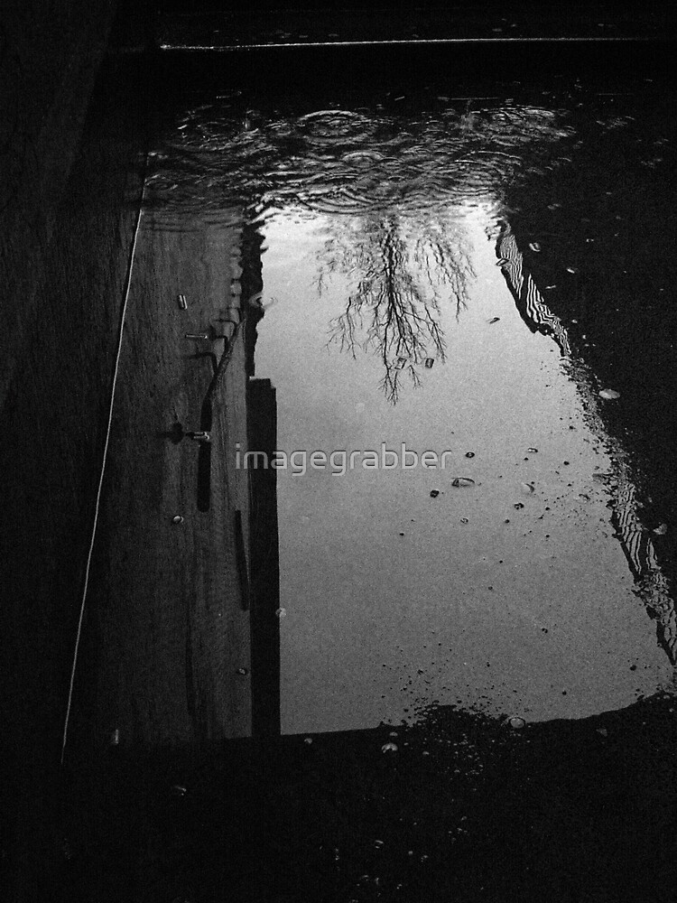 underground puddle by imagegrabber