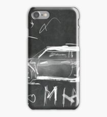 Mini Abstract sketching iPhone Case/Skin
