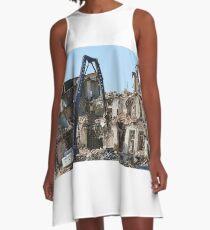 demolition A-Line Dress
