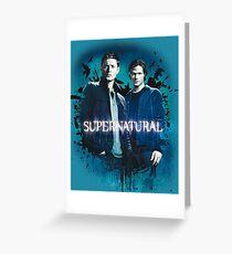 Supernatural 2 Greeting Card