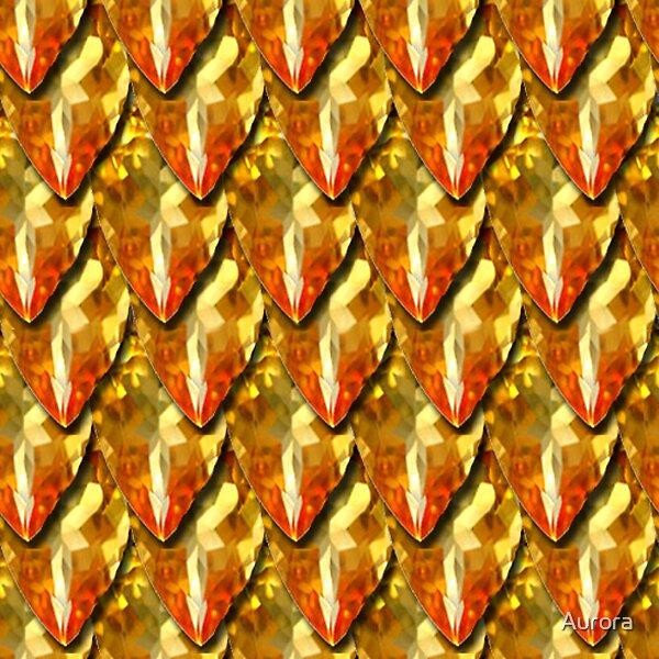 amber dragonscales by Aurora