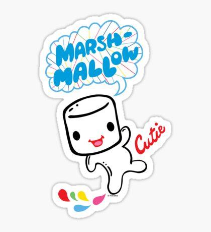 Marshmallow Cutie Sticker