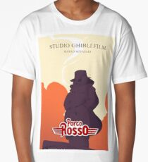 EXCLUSIF! Porco Rosso | Studio Ghibli Film Long T-Shirt