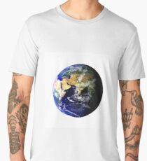 Earth Globe Men's Premium T-Shirt