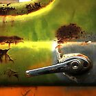 Abstract Truck Detail - Perris CA by Larry Costales