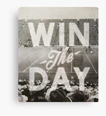 Win The Day Canvas Print