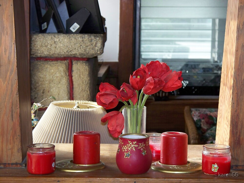 Red Display by karen66