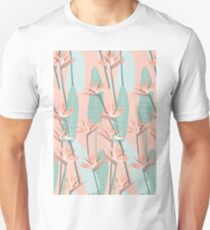 Bird of paradise - mint Unisex T-Shirt