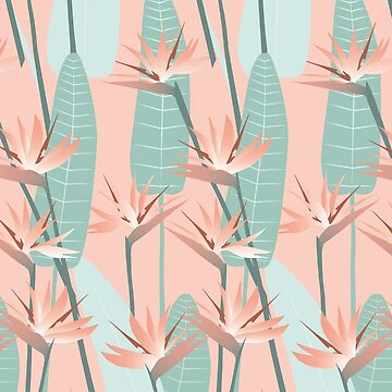 Bird of paradise - mint von youdesignme