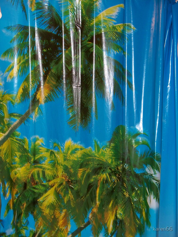 Tropical Shower Curtain,photo by karen66