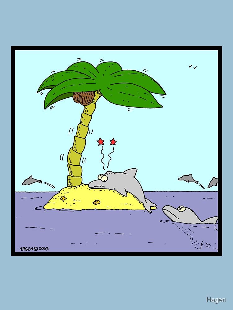 Unlucky Dolphin by Hagen
