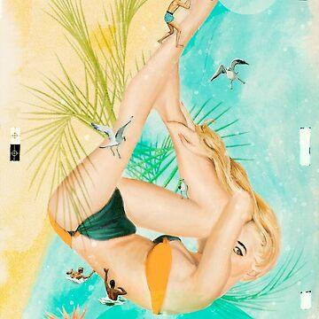 Beach Party by heatherlandis