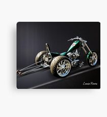 Dragster Trike Canvas Print
