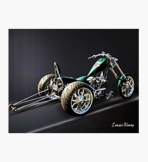 Dragster Trike Photographic Print