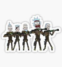 Seal Team Rick Sticker