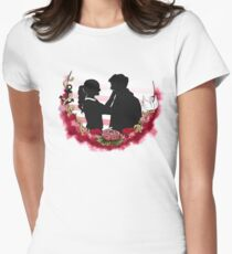 Always Be by Your Side Womens Fitted T-Shirt