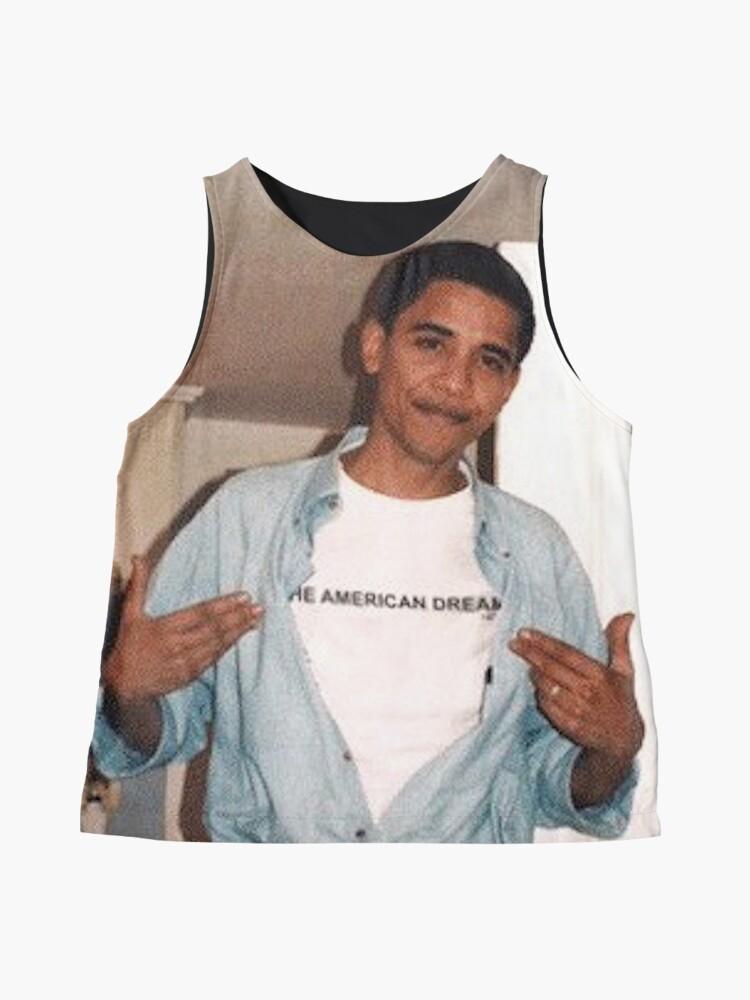 Alternative Ansicht von Der amerikanische Traum - Obama Print Kontrast Top