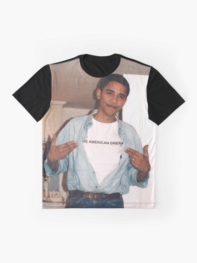 Alternative Ansicht von Der amerikanische Traum - Obama Print Grafik T-Shirt
