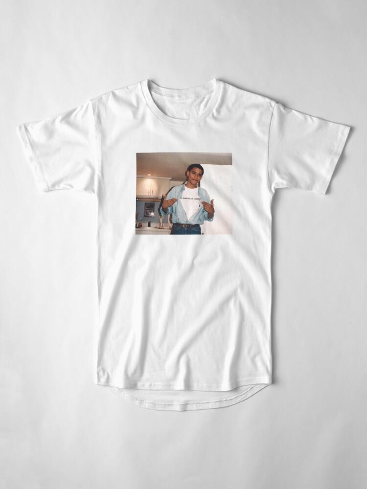 Alternate view of The American Dream - Obama Print Long T-Shirt