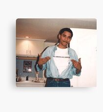The American Dream - Obama Print Canvas Print