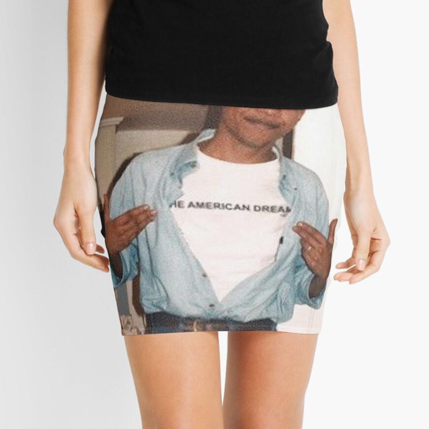 Der amerikanische Traum - Obama Print Minirock