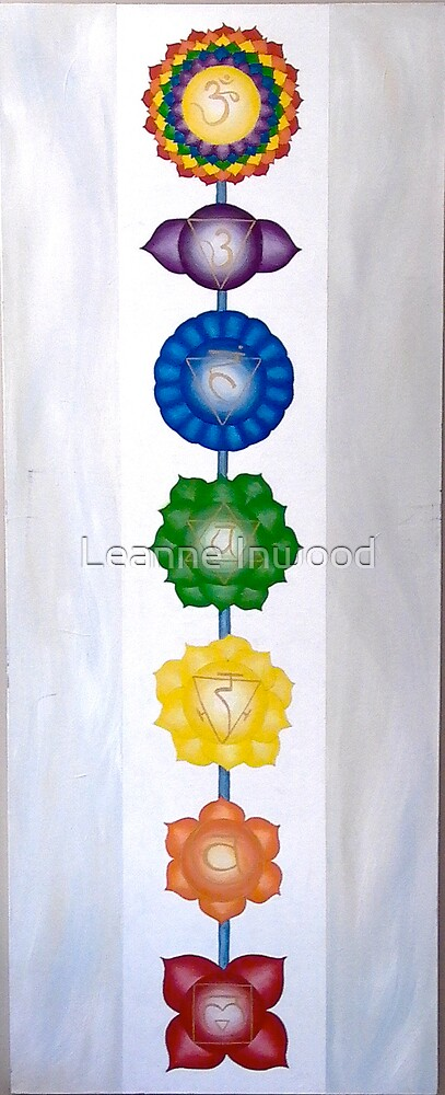 chakra's by Leanne Inwood