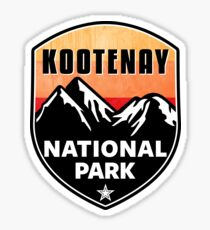 KOOTENAY NATIONAL PARK BRITISH COLUMBIA CANADA HIKING OUTDOORS EXPLORE NATURE Sticker