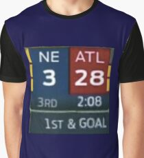 Falcons Lead 28-3 Graphic T-Shirt