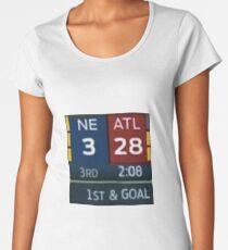 Falcons Lead 28-3 Women's Premium T-Shirt