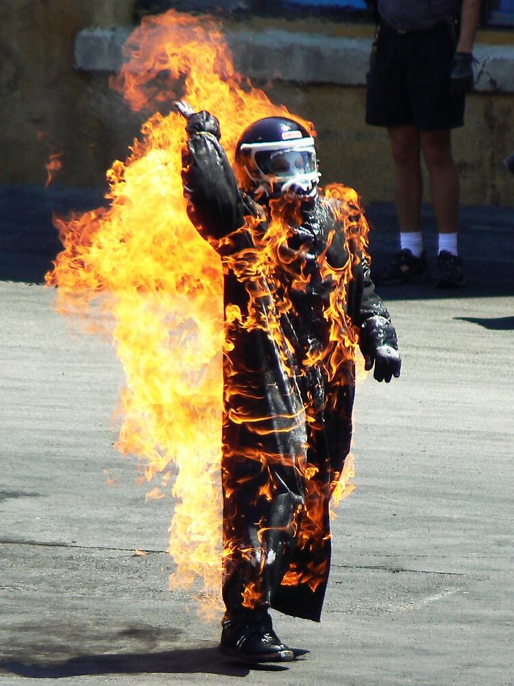 Burn Baby, Burn by Rowan Kanagarajah