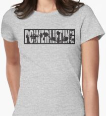 Powerlifting ICONIC - Squat, Bench Press, Deadlift Womens Fitted T-Shirt