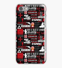 Videogame spoilers iPhone Case/Skin