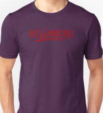 Bellarkru (Red Text) Unisex T-Shirt