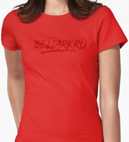 Bellarkru (Red Text) T-Shirt