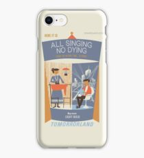 All Singing No Dying - Carousel of Progress Parody iPhone Case/Skin