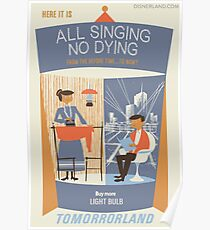 All Singing No Dying - Carousel of Progress Parody Poster
