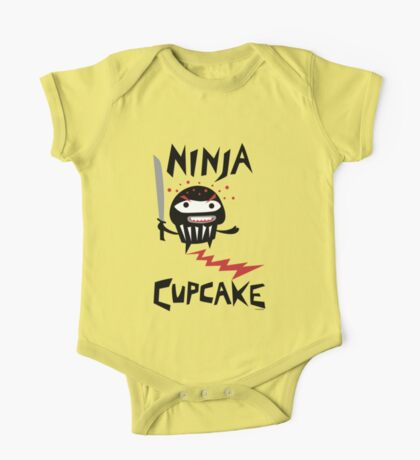 Ninja Cupcake - 2 Kids Clothes