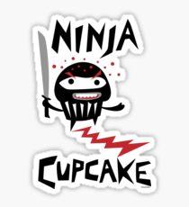 Ninja Cupcake - 2 Sticker