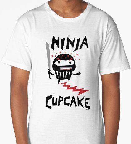 Ninja Cupcake - 2 Long T-Shirt